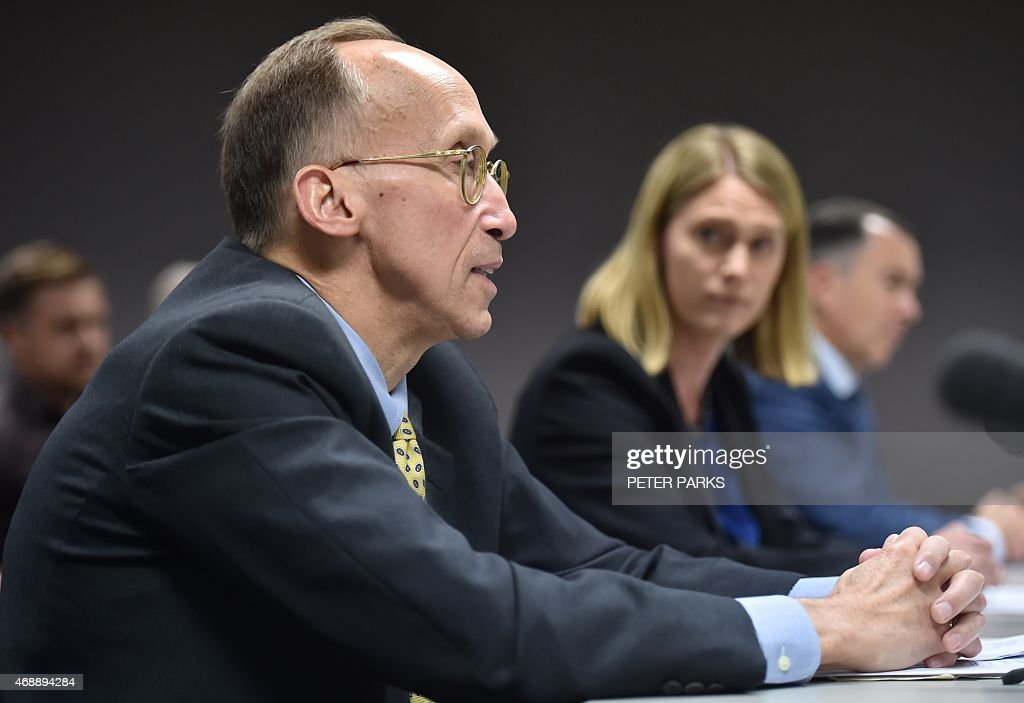 Corporate Vice President Of Microsoft Bill Sample (L) Speaks At An  Australian Parliamentary Hearing  Bill Sample Microsoft
