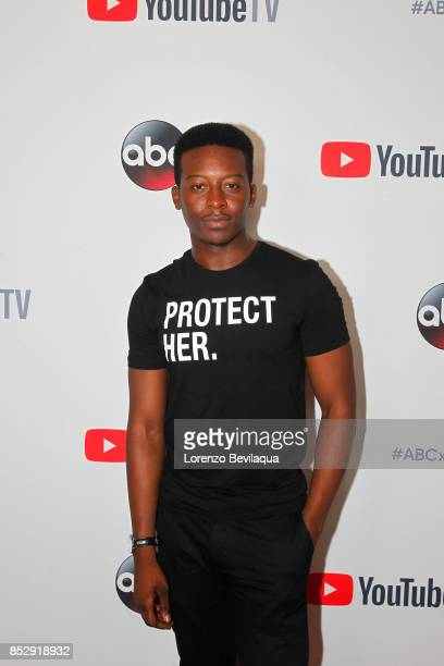 Corporate ABC/YouTube TV host the ABC Tuesday Block Party Screening Stars from ABC's blackish The Mayor The Middle Kevin Saves the World and Fresh...