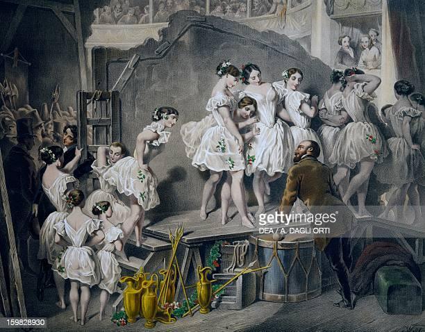 Corps de ballet Vienna Opera Print Austria 19th century Vienna Historisches Museum Der Stadt Wien