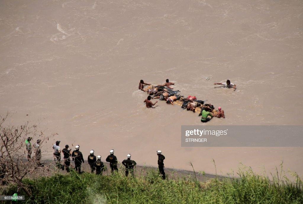 PERU-AREQUIPA-BUS-ACCIDENT : News Photo