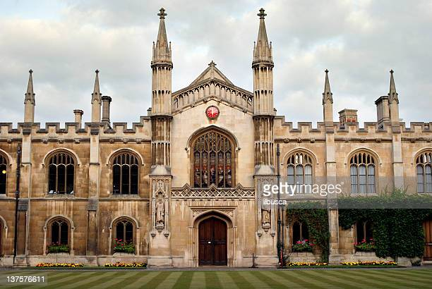corpus christi college in cambridge - cambridge university stock pictures, royalty-free photos & images
