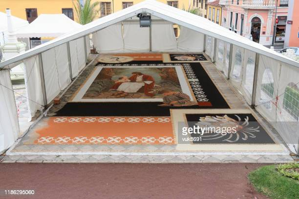 corpus christi in orotava - atlantic islands stock pictures, royalty-free photos & images