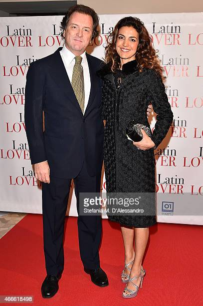 Corrado Pesci attends 'Latin Lover' Screening on March 17 2015 in Milan Italy