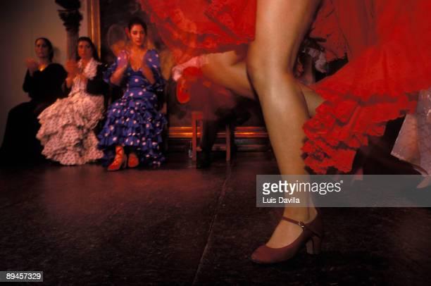 Corral de la Moreria, Madrid, Spain. Flamenco bar.