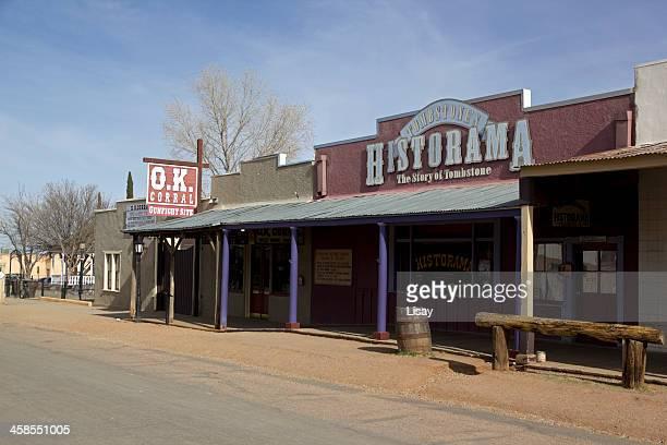 ok corral - tombstone arizona stock pictures, royalty-free photos & images