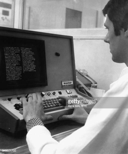 Correcteur dans une imprimerie d'un quotidien régional à Chartres en EureetLoir en France