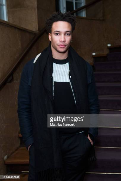 Correntin Fila attends the reception of 'A Paris Education' during the 68th Berlinale International Film Festival Berlin at on February 18 2018 in...