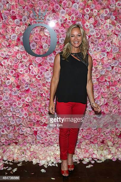 NFL correspondant Anita Marks attends the Pandora Rose Launch Party during MercedesBenz Fashion Week at Empire Hotel on September 5 2014 in New York...