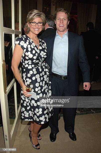 TV Correspondant Ashleigh Banfield and husband Howard Gould attend the after party for the HBO Documentaries premiere Of Roman Polanski Wanted And...
