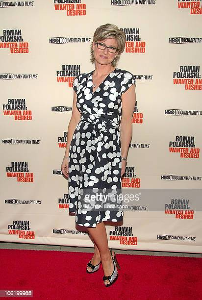 TV Correspondant Ashleigh Banfield attends the HBO Documentaries premiere Of Roman Polanski Wanted And Desired at The Paris Thatre in New York City...