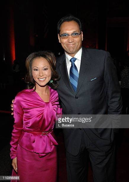 CNN correspondent Alina Cho and actor Jimmy Smits attend CNN Heroes An AllStar Tribute a live global broadcast honoring everyday heroes at the...