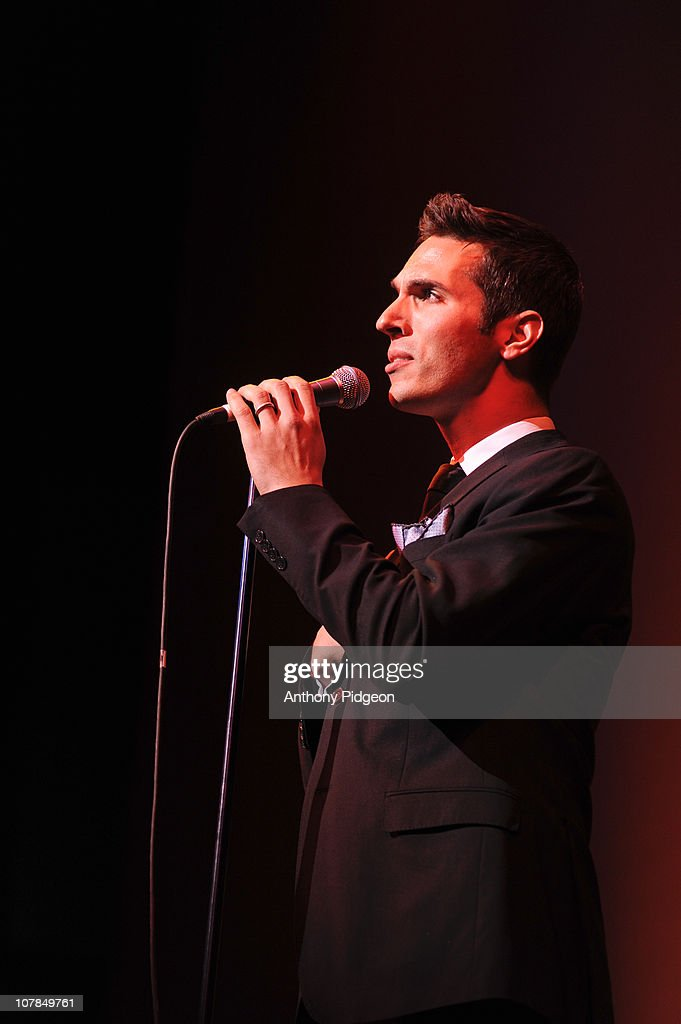 NPR correspondent Ari Shapiro performs on stage with Pink ...