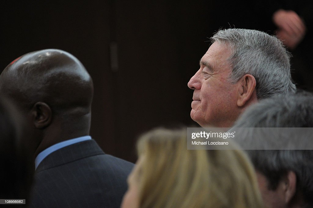Correspondent Dan Rather attends the 'Walk In My Shoes: Conversations Between A Civil Rights Legend and His Godson on The Journey Ahead' book Event at The Paley Center for Media on February 9, 2011 in New York City.