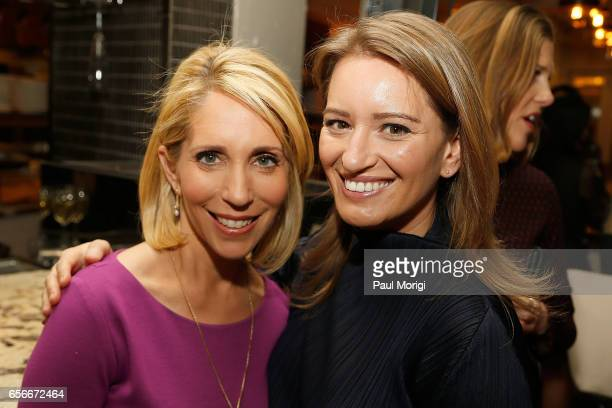 Correspondent Dana Bash and NBC News Correspondent Katy Tur attend ELLE and Bottega Veneta Women in Washington dinner hosted by Robbie Myers ELLE...