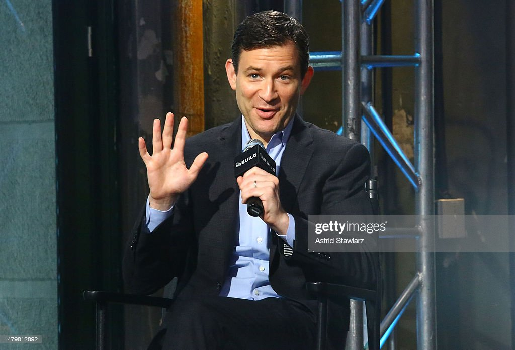 Correspondent for ABC News, Dan Harris, attends AOL Build Presents: 'Force for Good: The Dalai Lama's Vision for Our World' at AOL Studios In New York on July 7, 2015 in New York City.