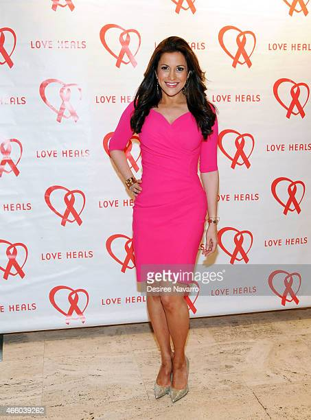 TV correspondent Gigi Stone Woods attends Love Heals 2015 Gala at the Four Seasons Restaurant on March 12 2015 in New York City