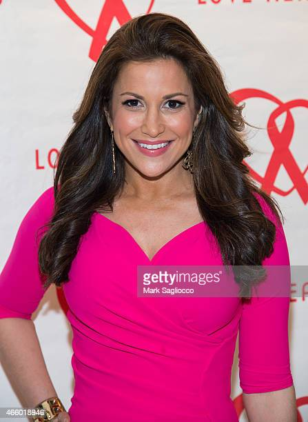 TV correspondent Gigi Stone Woods attends the 2015 Love Heals Gala at the Four Seasons Restaurant on March 12 2015 in New York City