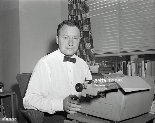 """Correspondent James Reston, shown in file photo, was awarded the Pulitzer Prize for National Affairs Reporting """"for his distinguished national..."""