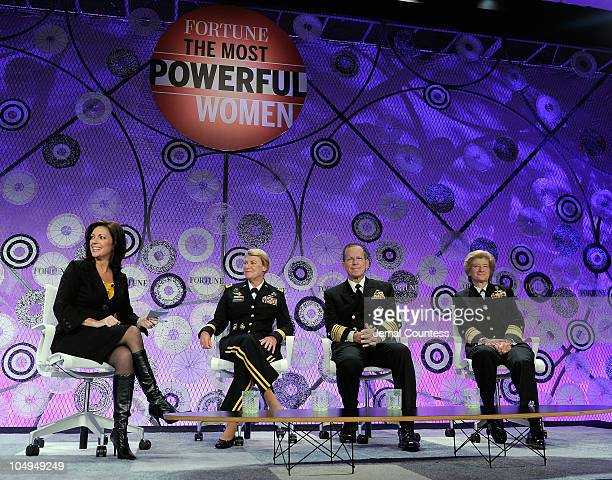 CNN correspondent Kyra Phillips Commanding General of US Army Material Command General Ann Dunwoody chairman of the Joint Chiefs of Staff Admiral...