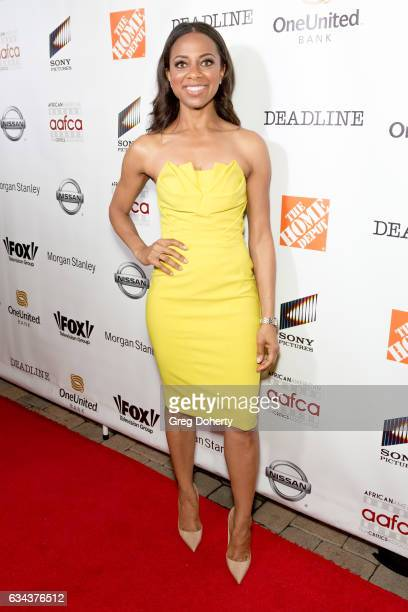 Correspondent Nischelle Turner attends the 8th Annual AAFCA Awards at the Taglyan Complex on February 8 2017 in Los Angeles California