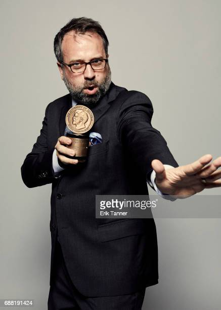 NPR correspondent Robert Smith is photographed at the 76th Annual Peabody Awards at Cipriani Wall Street on May 20 2017 in New York City