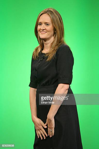 Correspondent Samantha Bee of Comedy Central's The Daily Show with Jon Stewart tapes The Daily Show with Jon Stewart Restoring Honor Dignity to the...