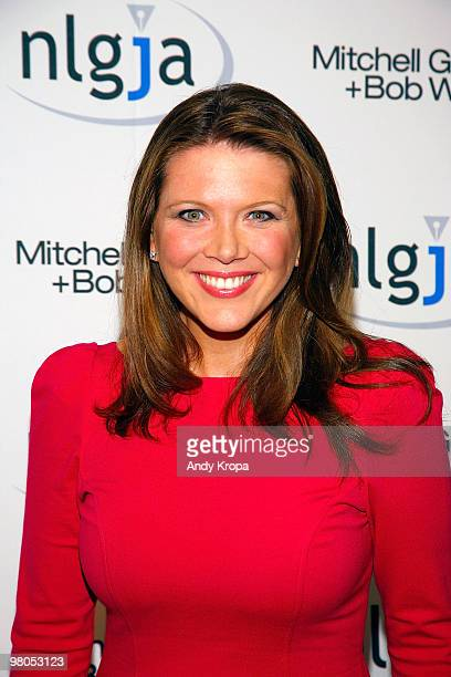 CNBC correspondent Trish Regan attends the NLGJA�s 15th Annual New York Benefit at Mitchell Gold Bob Williams SoHo Store on March 25 2010 in New York...