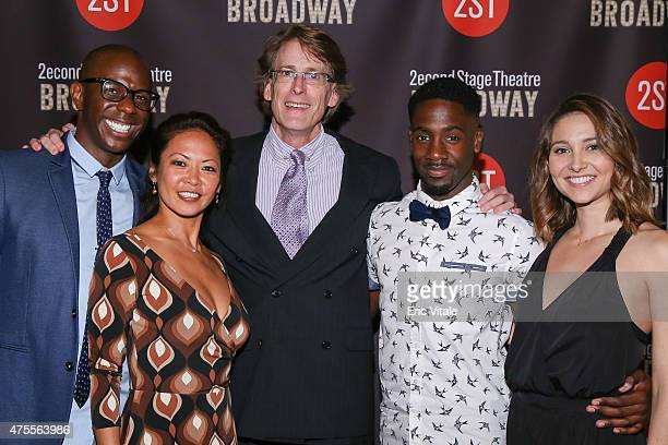 Correy West Kristine Bendul Dick Scanlan Brian Binion and Lindsay Moore attend the Second Stage 36th Anniversary Gala at 583 Park Avenue on June 1...