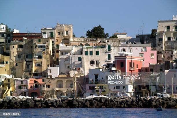 Corricella Procida Island Gulf of Naples Campania Italy