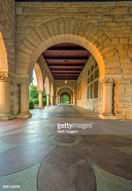 CONTENT] Corridor along the Quad in Stanford University