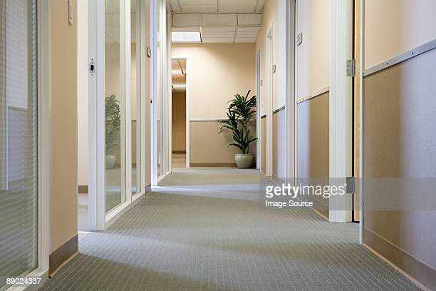 Corridor in an office