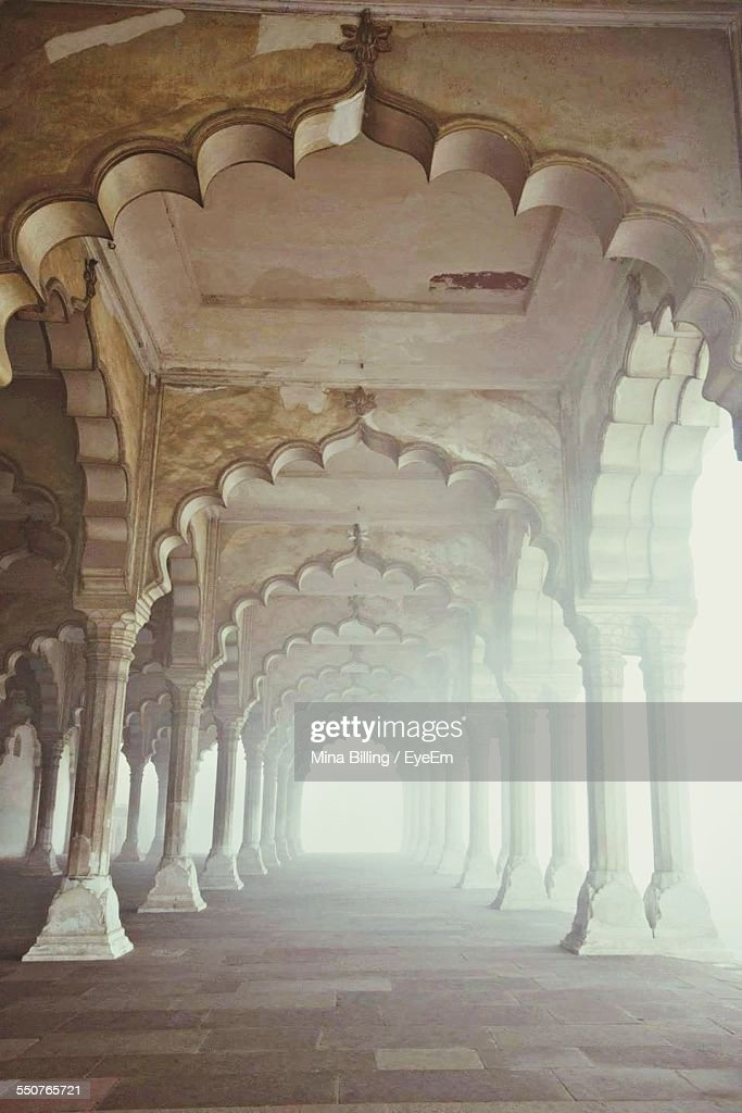 Corridor Of A Fort : Stock Photo