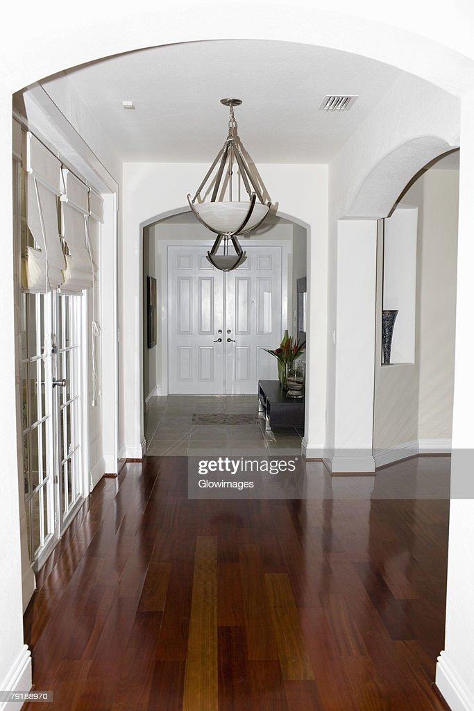 Corridor of a house : Foto de stock
