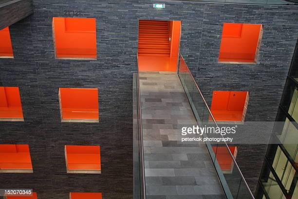 corridor - hilversum stock-fotos und bilder