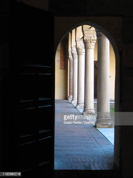 Corridor Seen Through Doorway