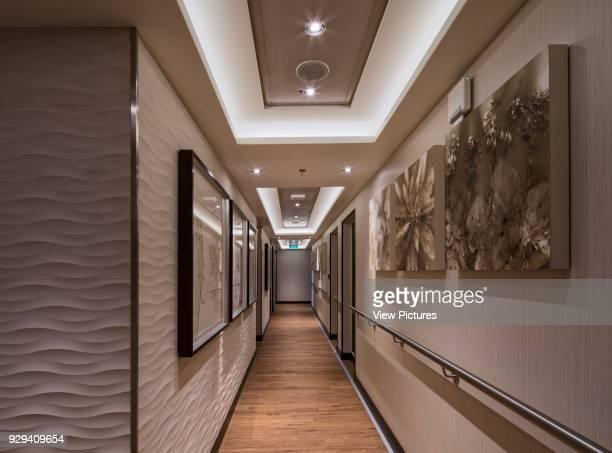 Corridor to the Hydro Norwegian Cruise Ship _x0013_ The Escape Southampton United Kingdom Architect SMC Design 2015