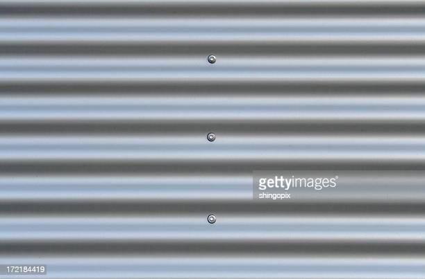 Wellblech aus aluminium
