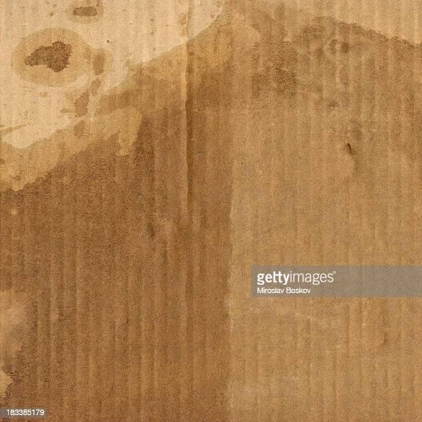 Corrugated Cardboard High Resolution Mottled Grunge Texture
