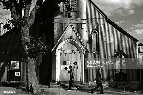 Corrugated church, Kilburn North West London, Summer 2013