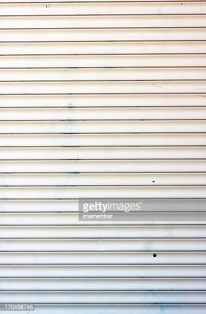 Corrugated iron wall background, copy space