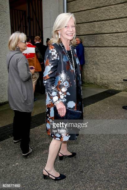 Corry MuellerVivil attends the 'La Clemenzia di Tito' premiere during the Salzburg Festival 2017 on July 27 2017 in Salzburg Austria