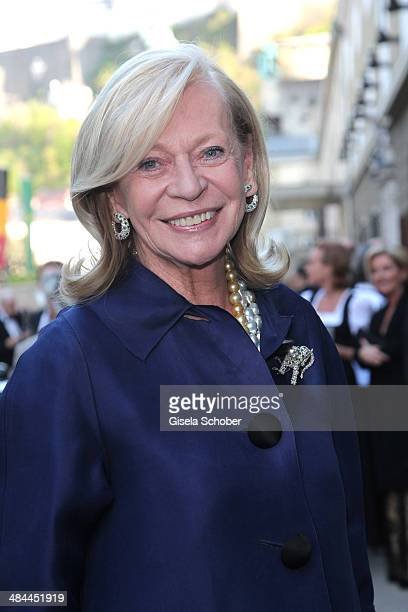 Corry MuellerVivil attends the opening of the easter festival 2014 on April 12 2014 in Salzburg Austria