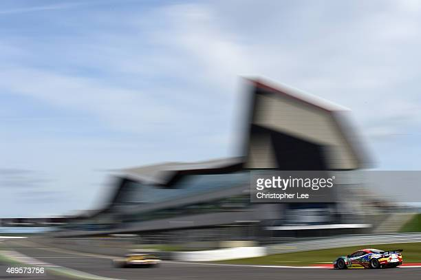 Corse car driven by Gianmaria Bruni of Italy and Toni Vilander of Finland in action during the FIA World Endurance Championship 6 Hours of...