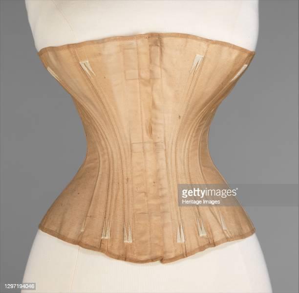 Corset, American, 1866-67. Artist Worcester Skirt Company.