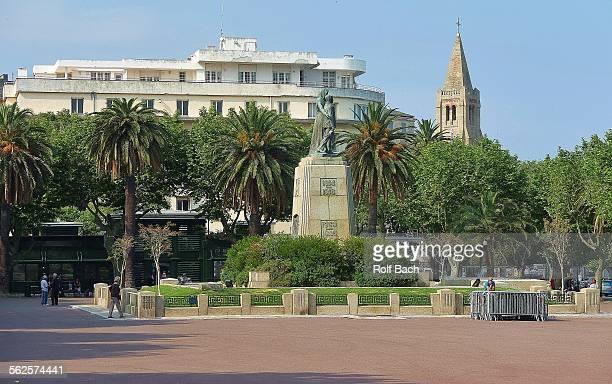 Corsica Bastia, Place St Nicolas Napoleon