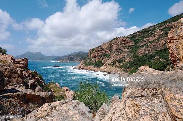 Corsica island coast