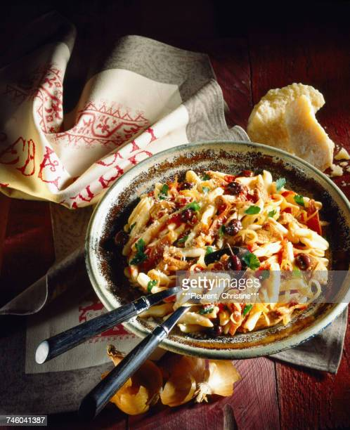 Corsican stew with penne