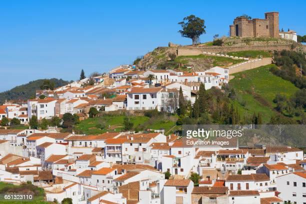 Cortegana Castle Sierra de Aracena y Picos Aroche natural park Huelva province Andalusia Spain