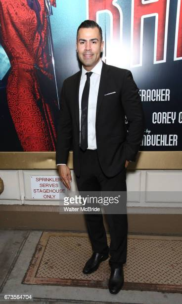 Cortes attends the Broadway opening night performance of 'Bandstand' at the Bernard B Jacobs Theatre on 4/26/2017 in New York City