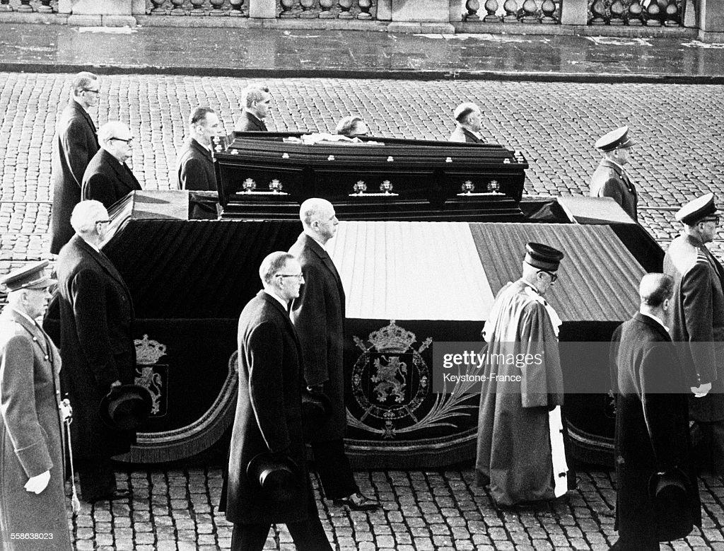 Cortège Funèbre de la Reine de Belgique : News Photo